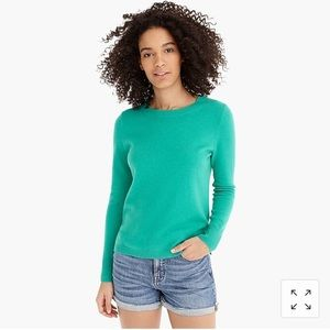 NWT J Crew 100% Cashmere Crewneck Sweater